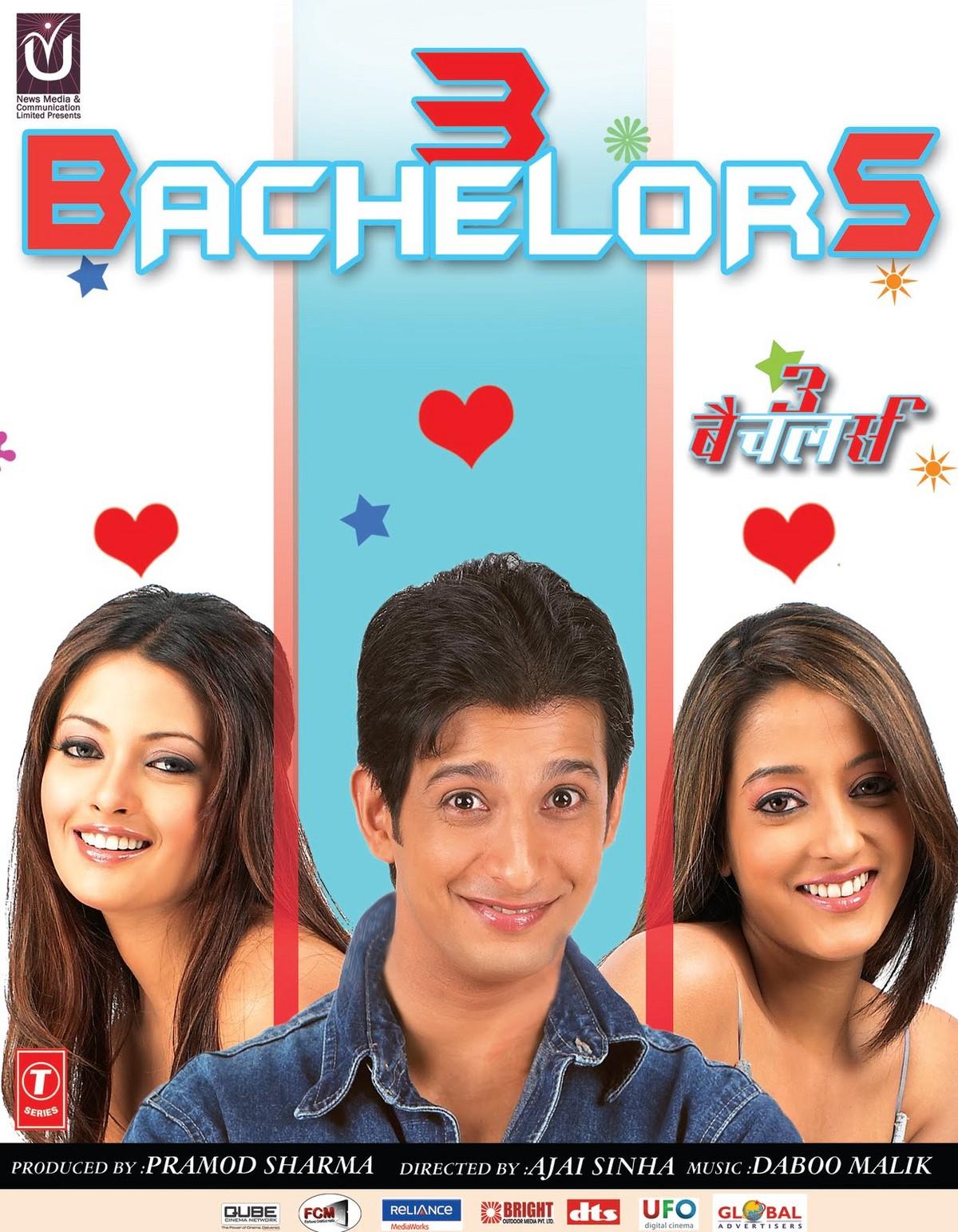 3 Bachelors - Movie Poster #1 (Original)