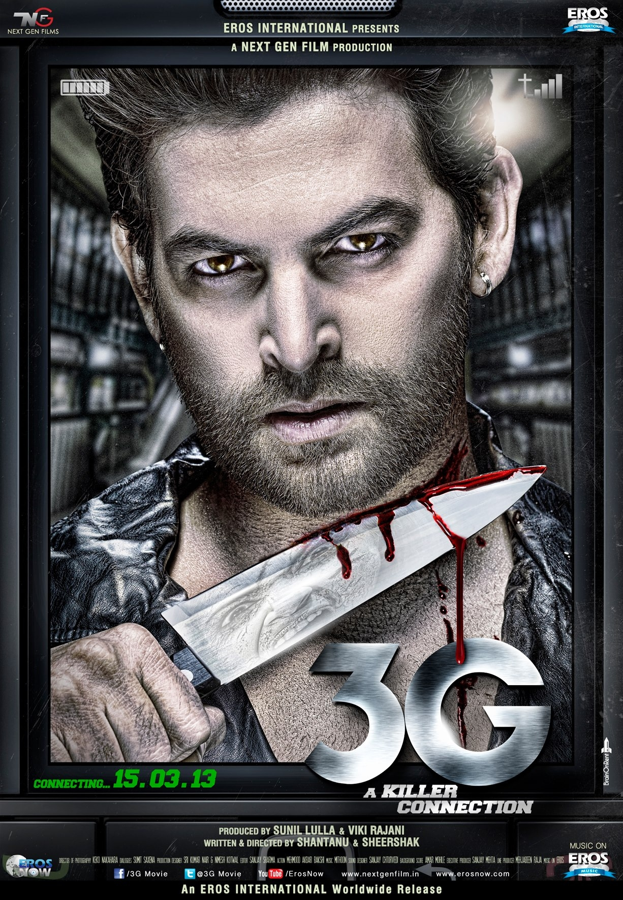 3G - A Killer Connection - Movie Poster #1 (Original)
