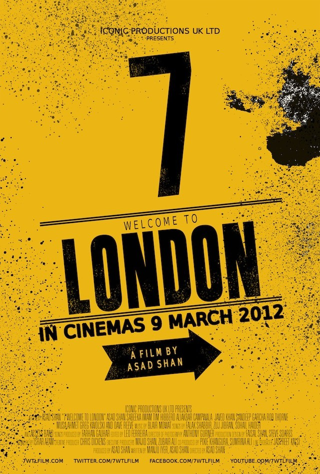 7 Welcome to London - Movie Poster #1