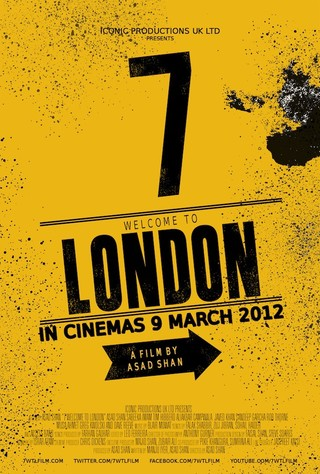 7 Welcome to London - Movie Poster #1 (Small)
