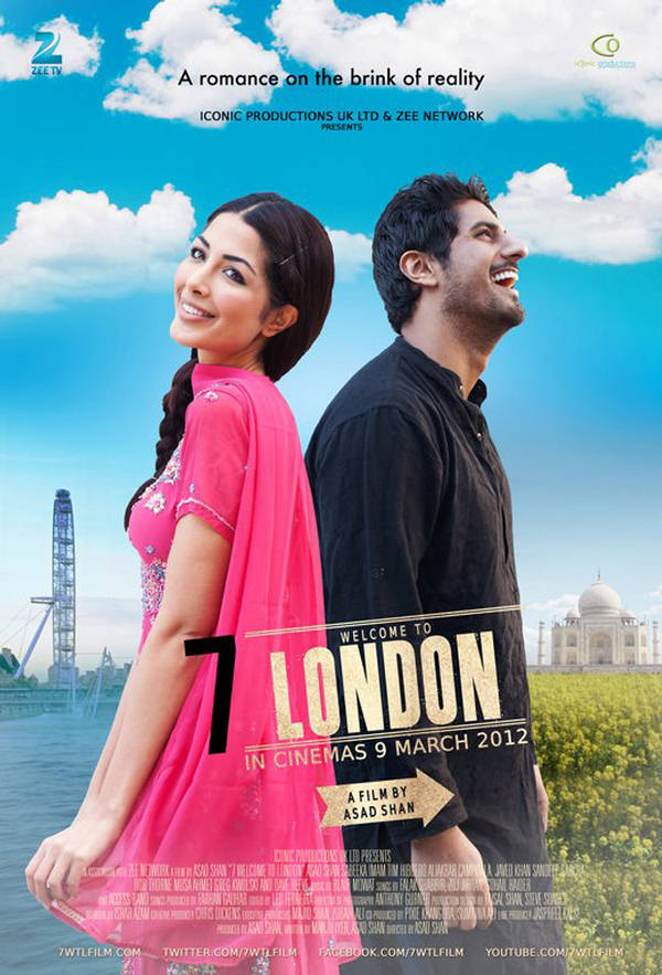 7 Welcome to London - Movie Poster #2 (Original)