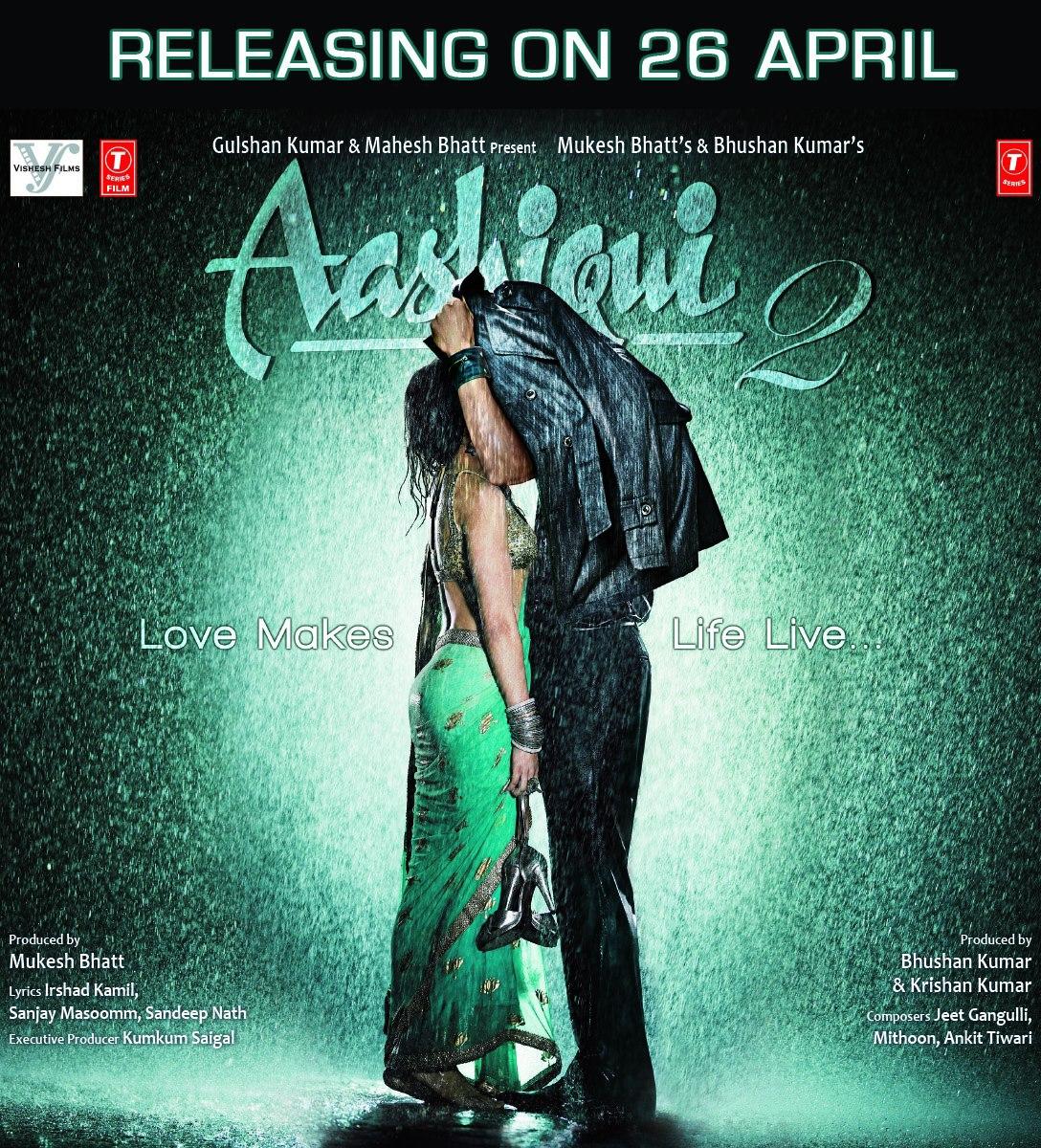 Aashiqui 2 - Movie Poster #3 (Original)