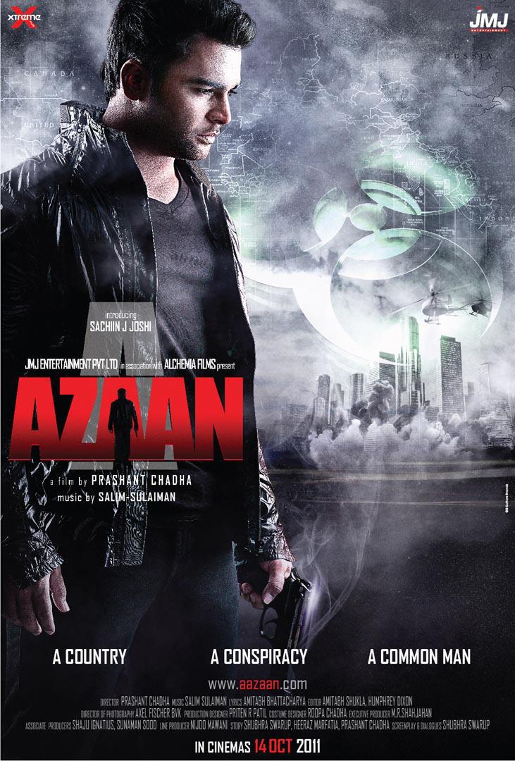 Aazaan - Movie Poster #1 (Original)