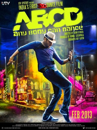 ABCD - Any Body Can Dance - Movie Poster #1 (Small)