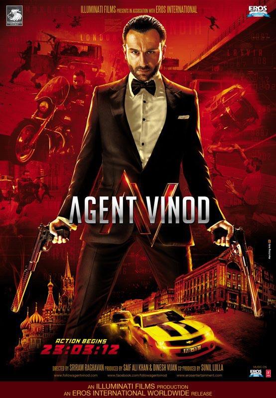 Agent Vinod - Movie Poster #1 (Original)