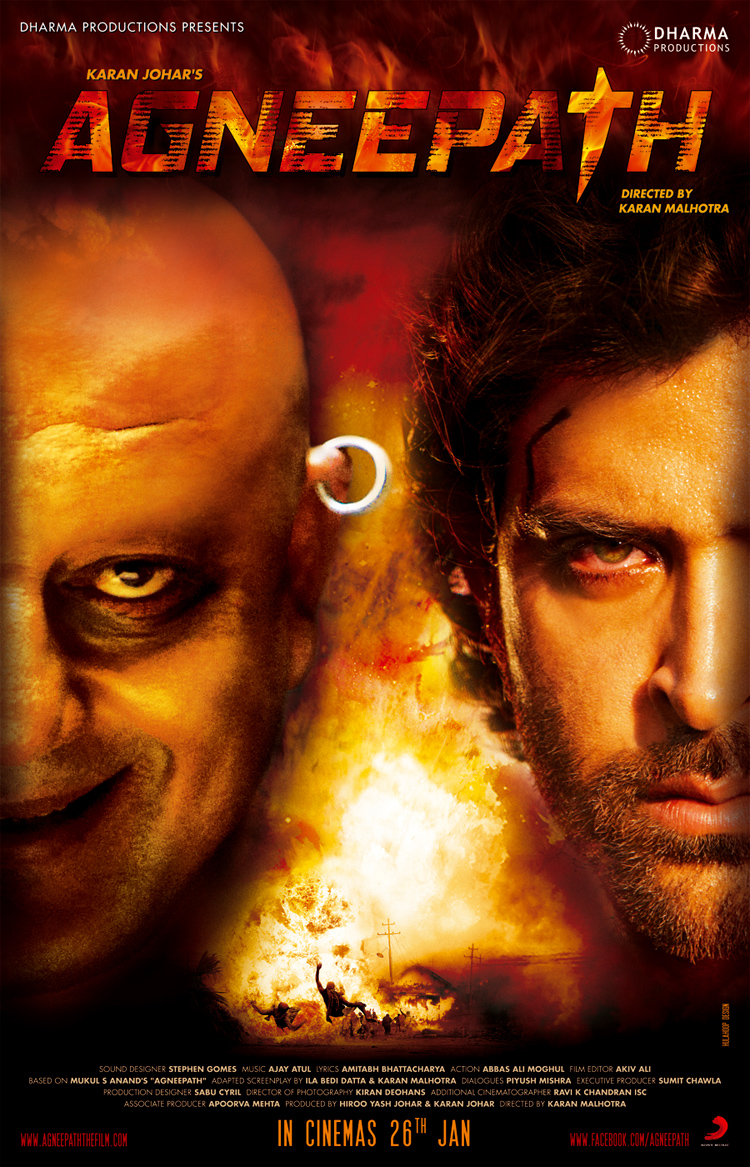 Agneepath - Movie Poster #1 (Original)