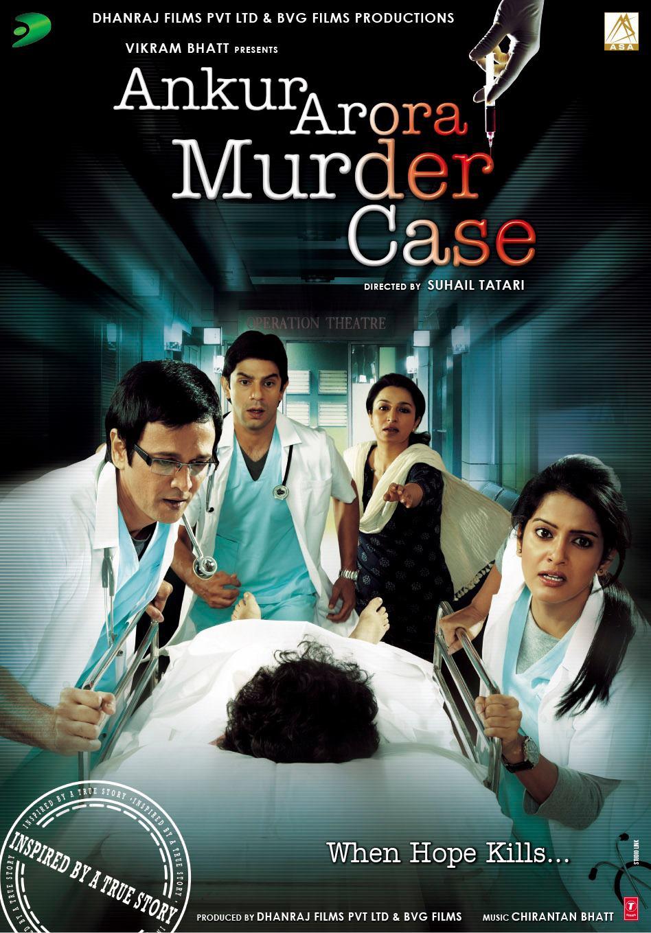 Ankur Arora Murder Case - Movie Poster #1 (Original)
