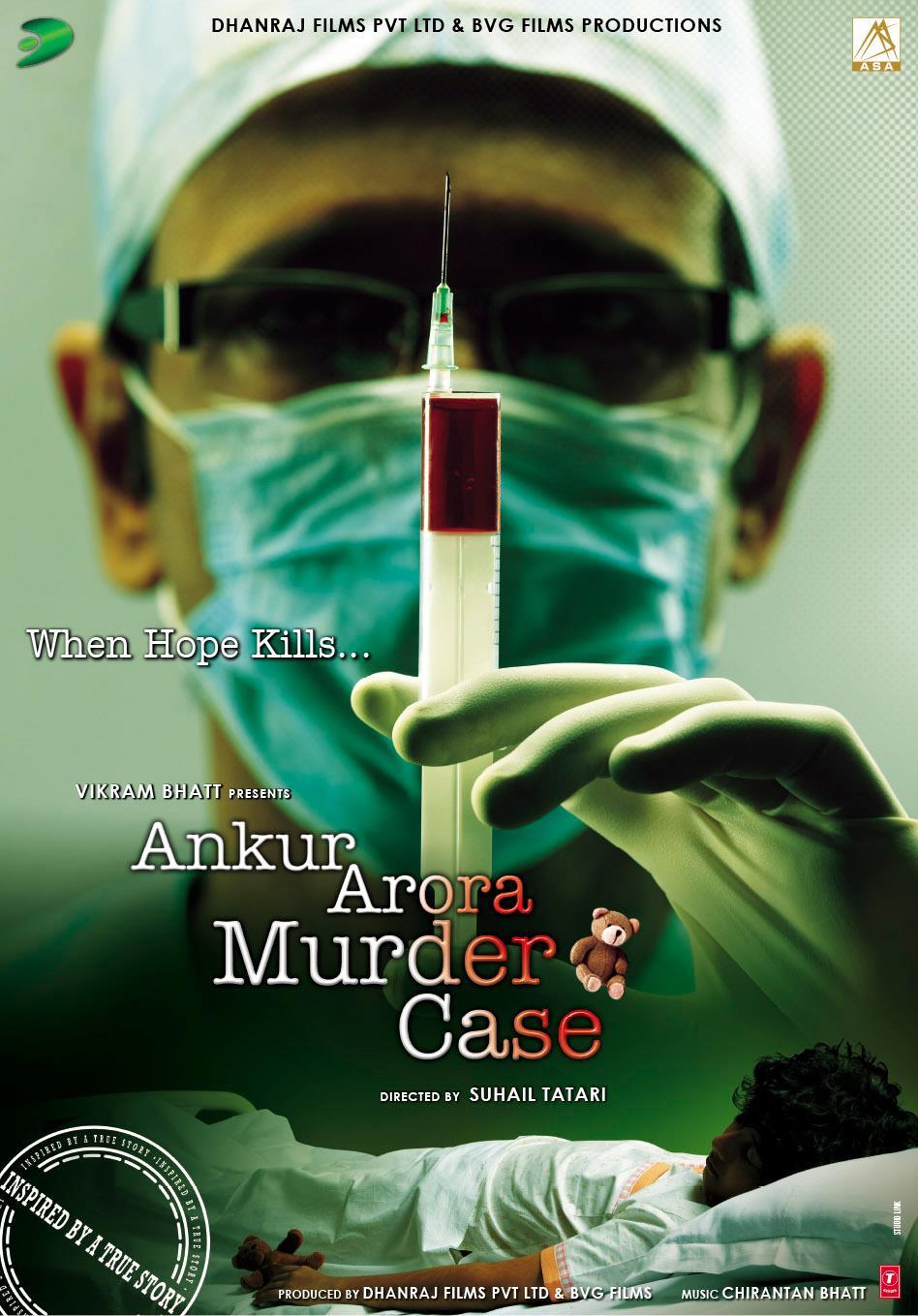 Ankur Arora Murder Case - Movie Poster #2 (Original)