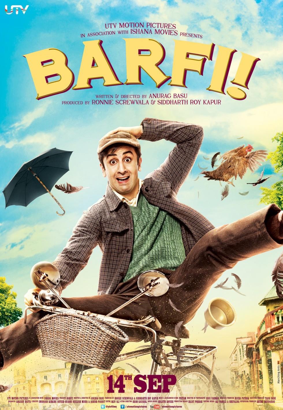 Barfi! - Movie Poster #1 (Large)
