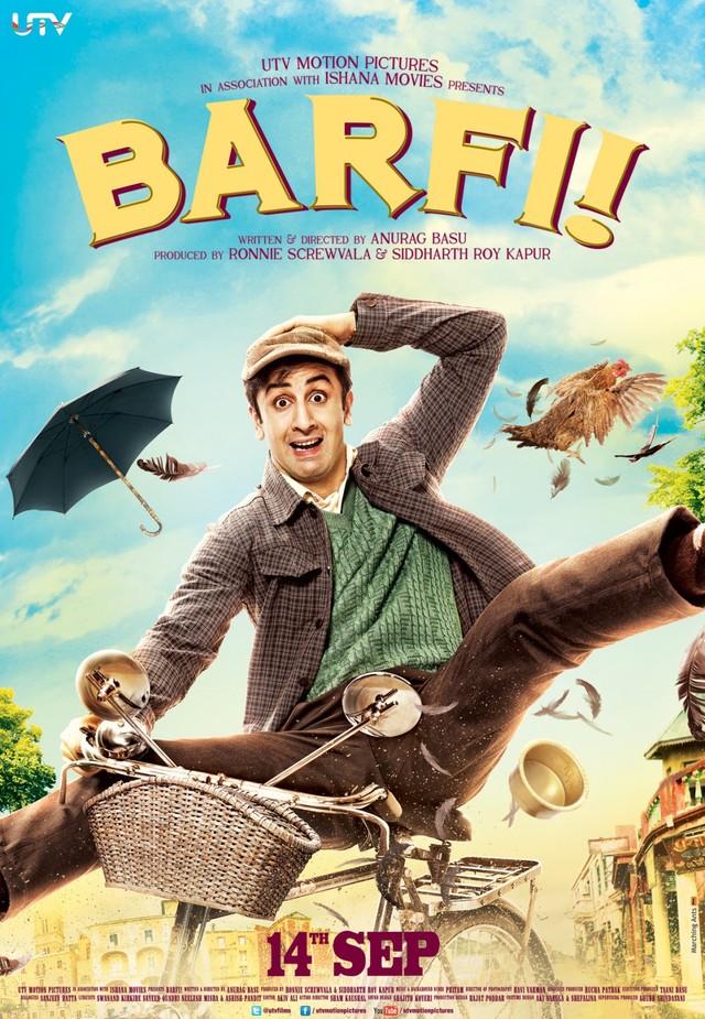 Barfi! - Movie Poster #1
