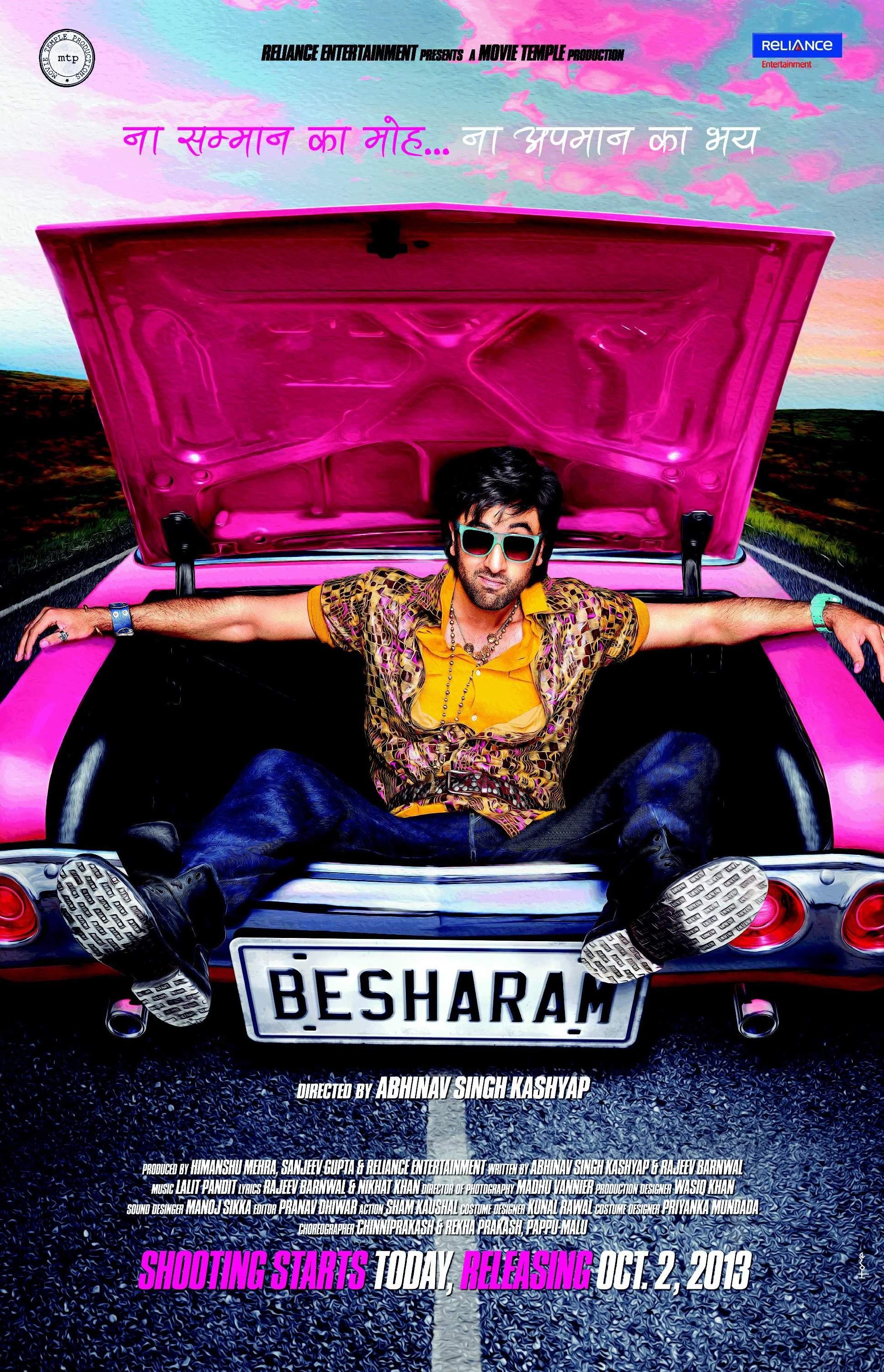 Besharam - Movie Poster #1 (Original)