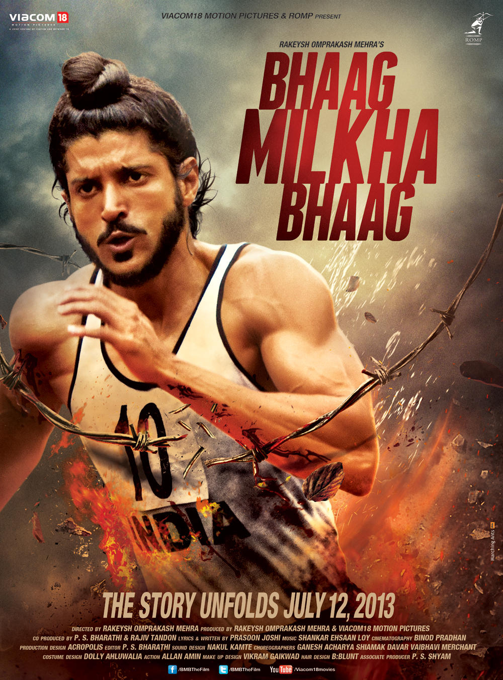 Bhaag Milkha Bhaag - Movie Poster #1 (Original)