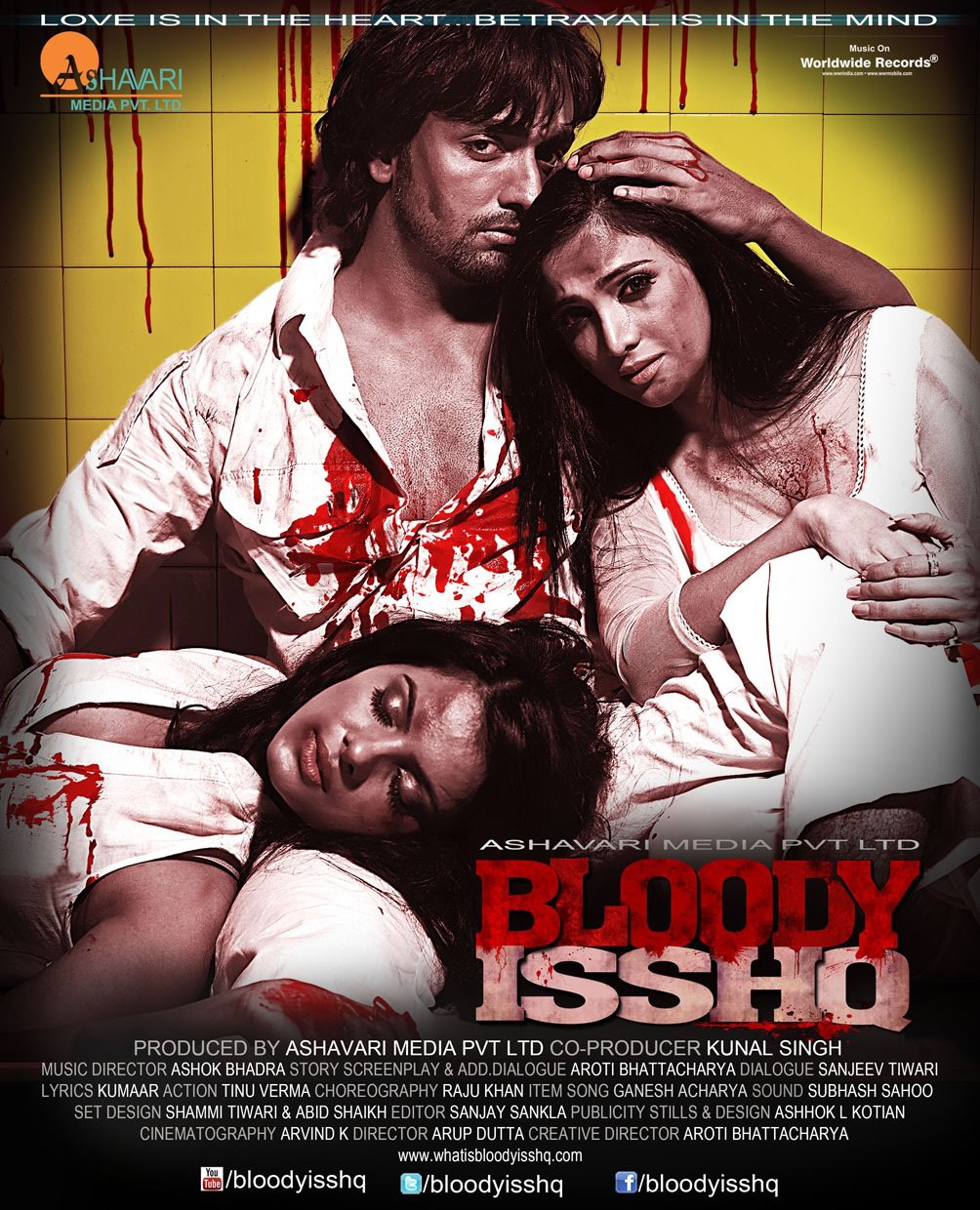 Bloody Isshq - Movie Poster #1 (Original)