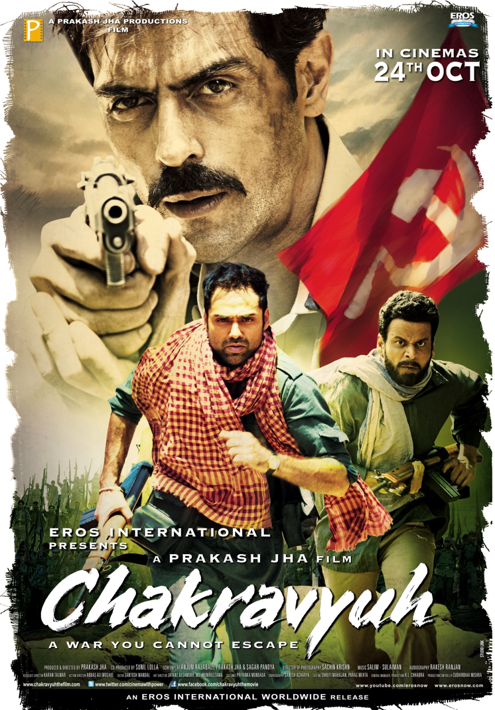 Chakravyuh - Movie Poster #1 (Original)
