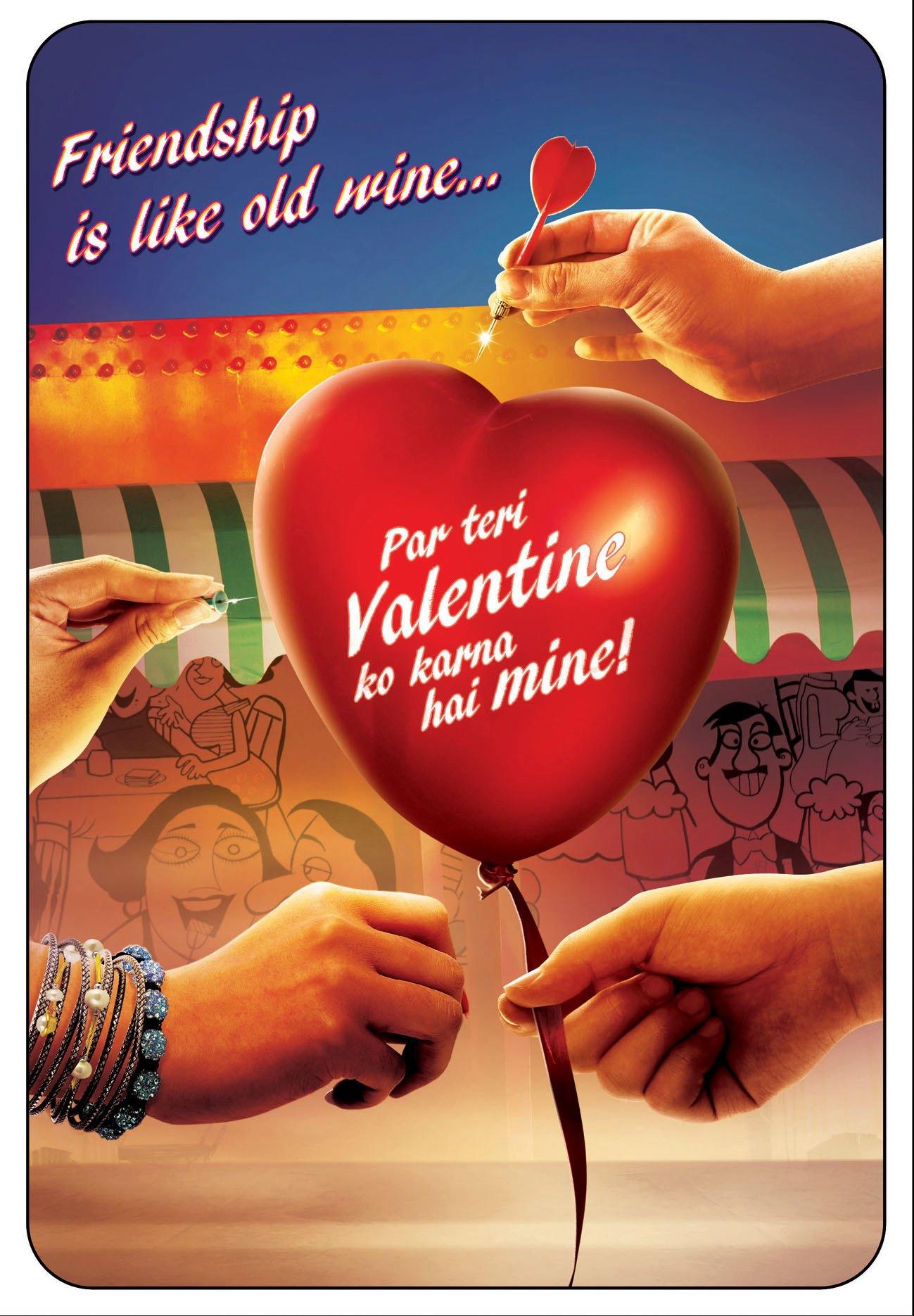 Chashme Baddoor - Movie Poster #2 (Original)
