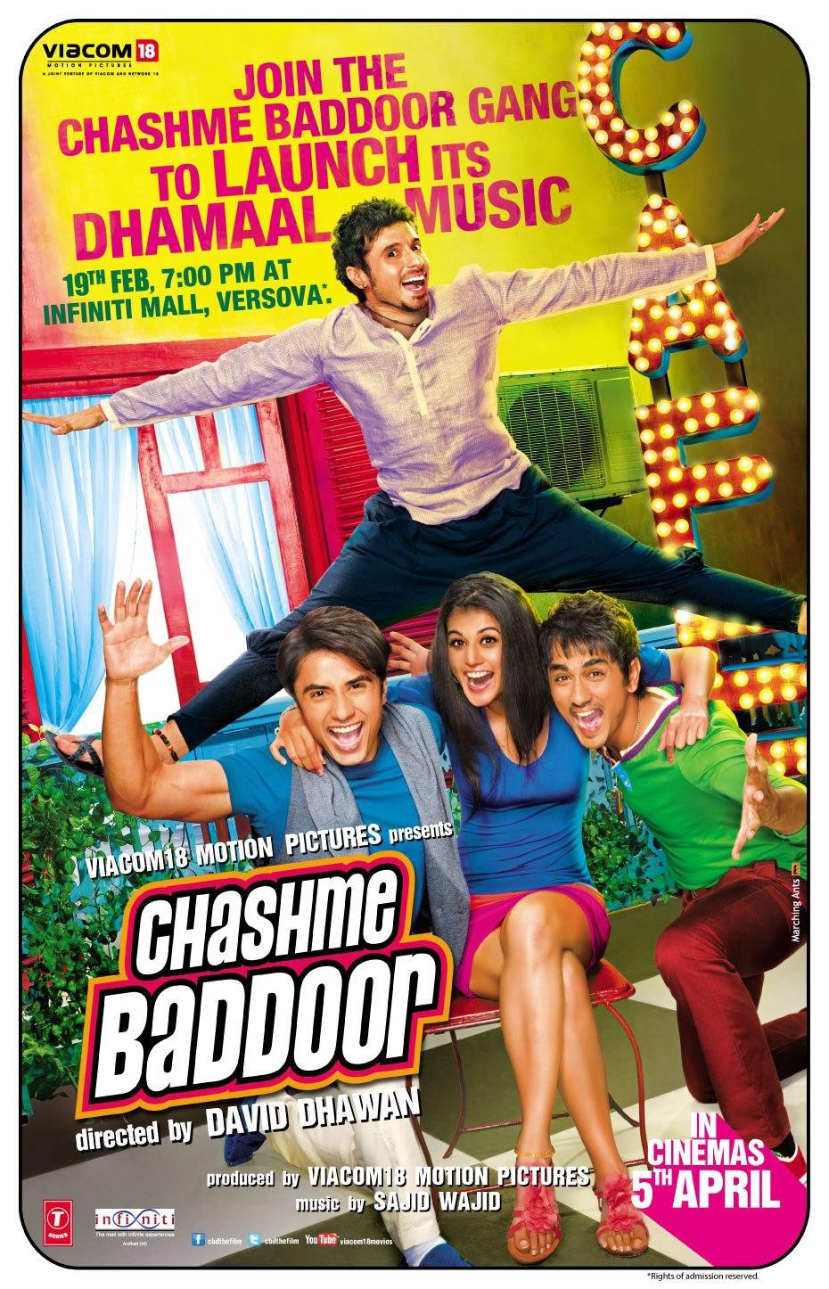 Chashme Baddoor - Movie Poster #3 (Original)