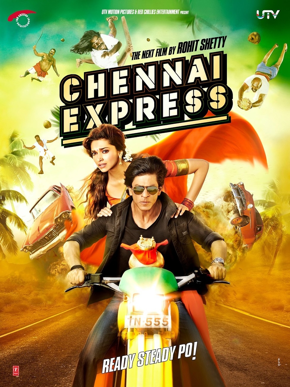 Chennai Express - Movie Poster #1 (Large)