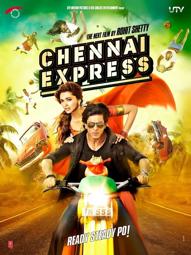 Chennai Express - Movie Poster #1