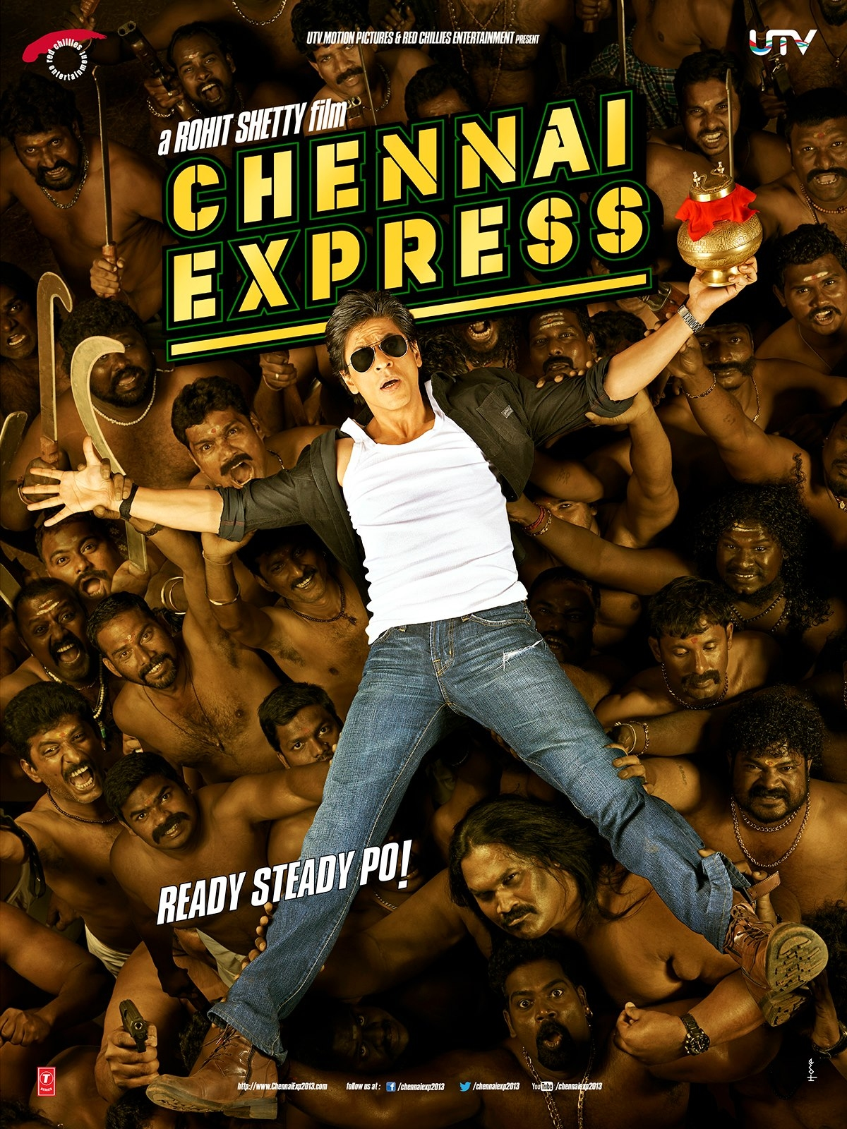 Chennai Express - Movie Poster #2 (Original)