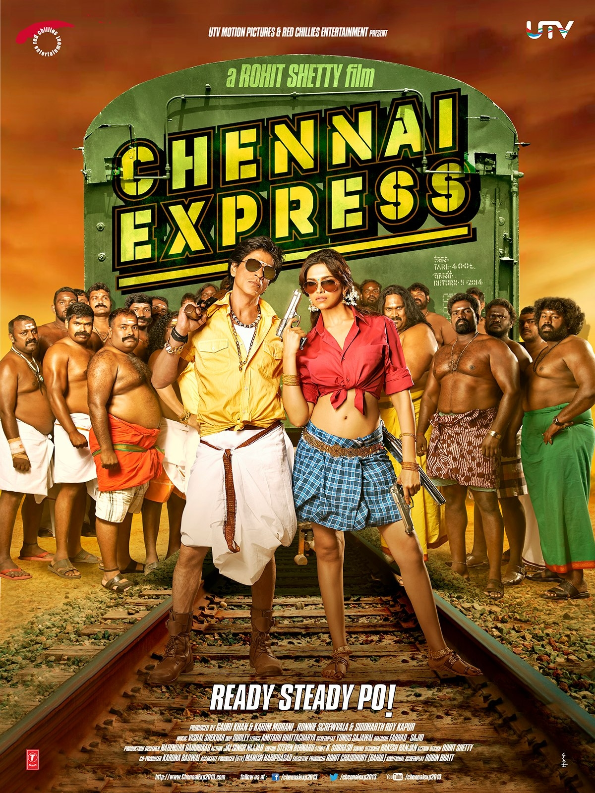 Chennai Express - Movie Poster #4 (Original)
