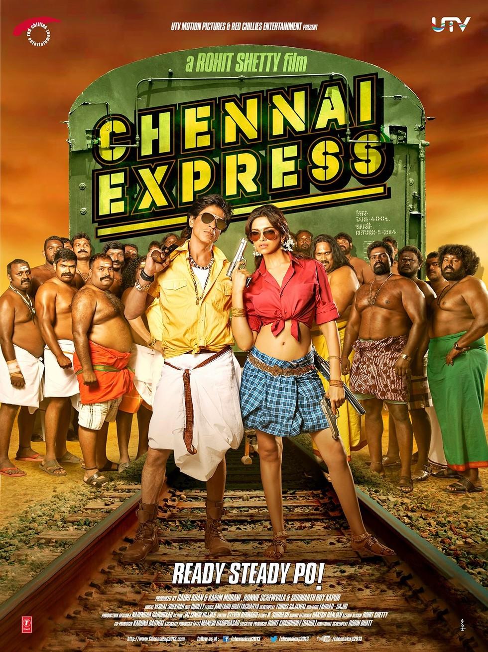 Chennai Express - Movie Poster #4 (Large)