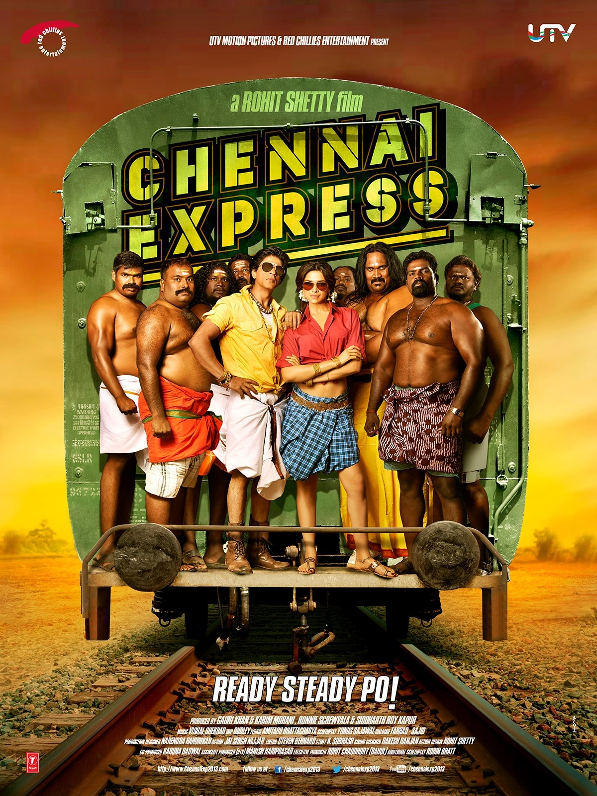 Chennai Express - Movie Poster #5 (Original)