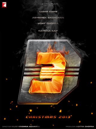 Dhoom 3 - Movie Poster #1 (Small)
