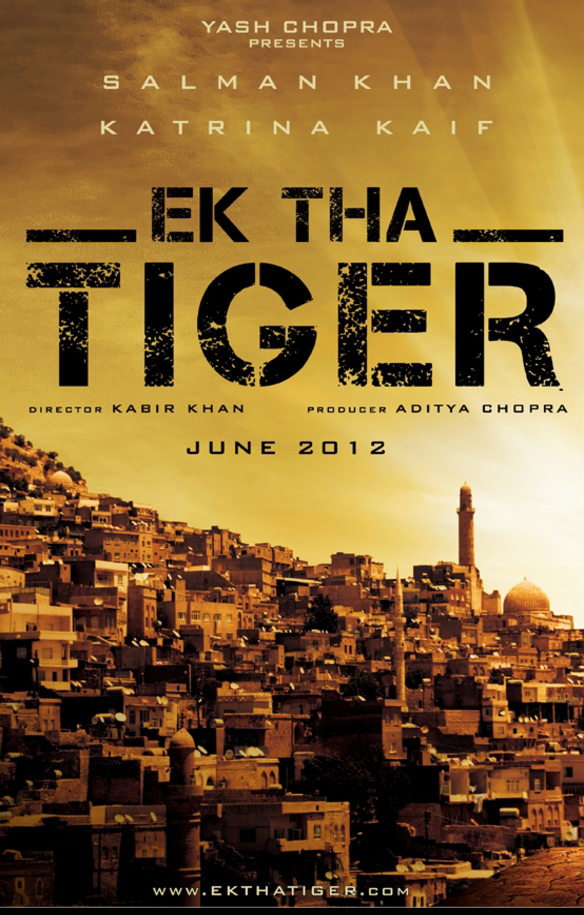 Ek Tha Tiger - Movie Poster #1 (Original)