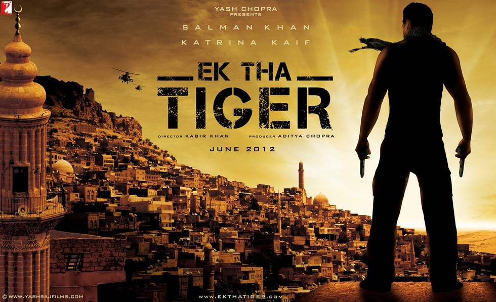 Ek Tha Tiger - Movie Poster #2 (Large)