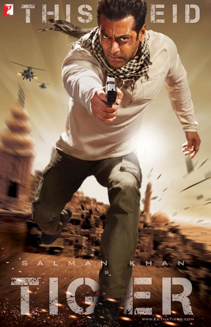 Ek Tha Tiger - Movie Poster #3 (Original)