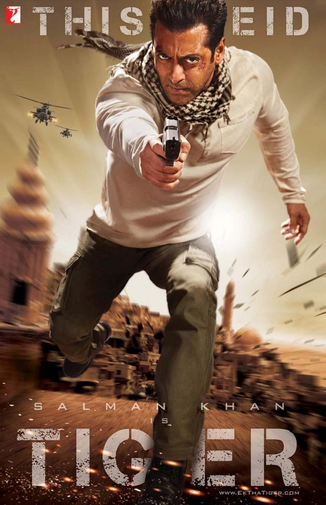 Ek Tha Tiger - Movie Poster #3