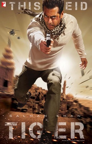 Ek Tha Tiger - Movie Poster #3 (Small)