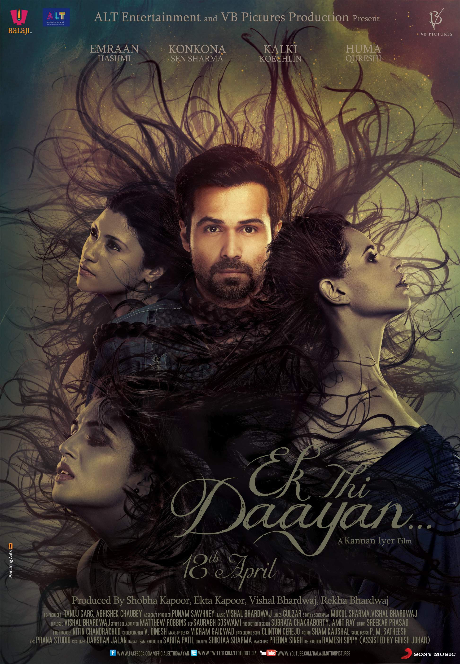 Ek Thi Daayan - Movie Poster #1 (Original)