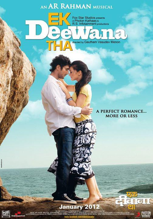 Ekk Deewana Tha - Movie Poster #1 (Original)