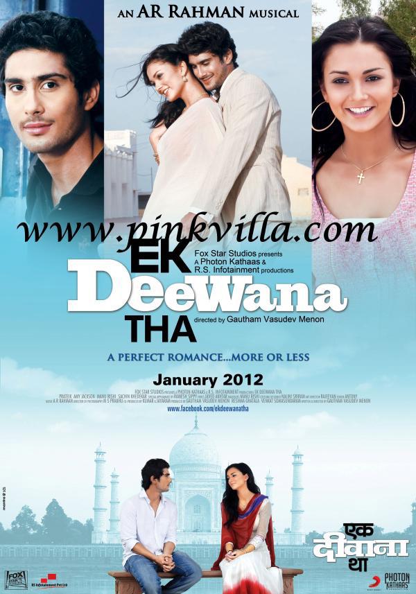 Ekk Deewana Tha - Movie Poster #3 (Original)