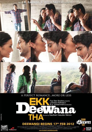 Ekk Deewana Tha - Movie Poster #4