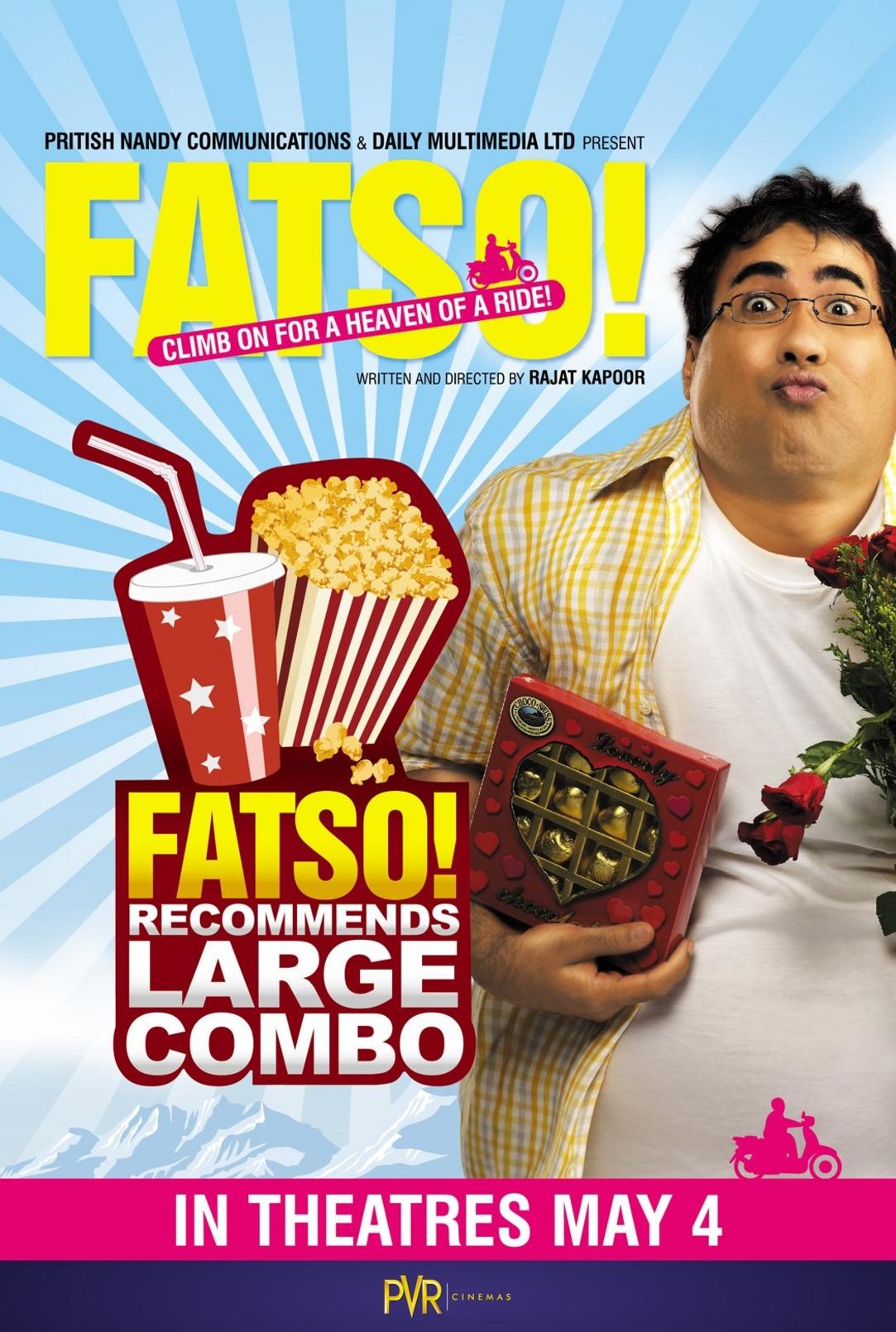 Fatso - Movie Poster #1 (Original)