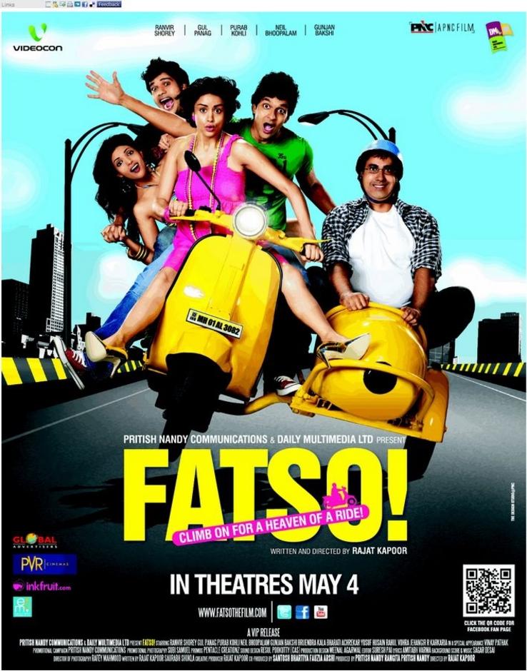 Fatso - Movie Poster #2 (Original)