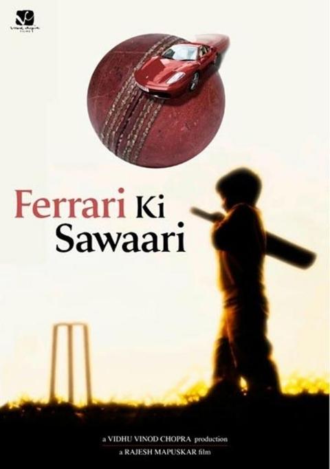 Ferrari Ki Sawaari - Movie Poster #3 (Original)