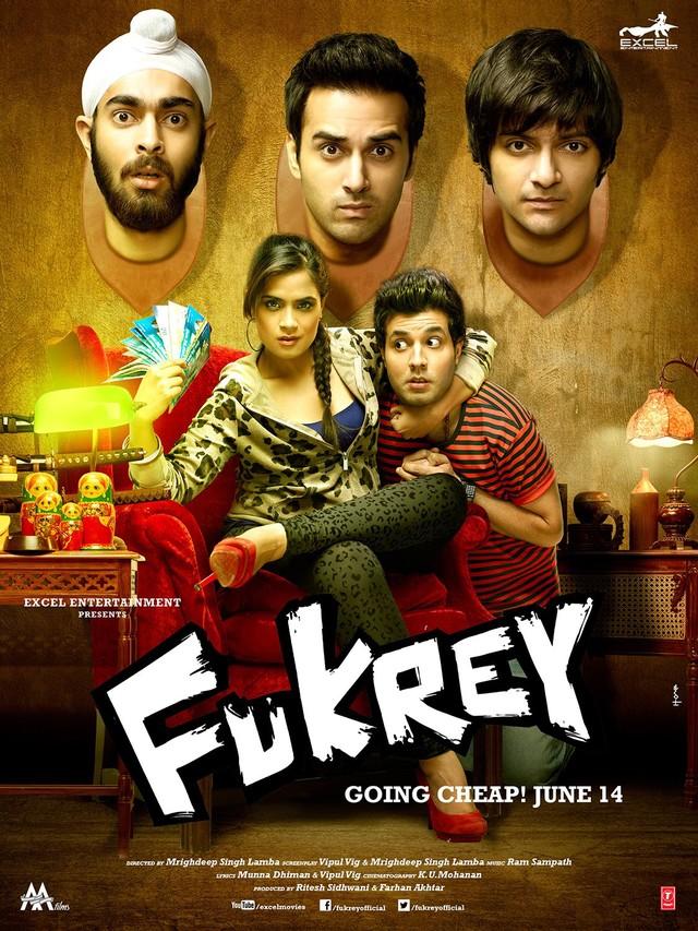 Fukrey - Movie Poster #1