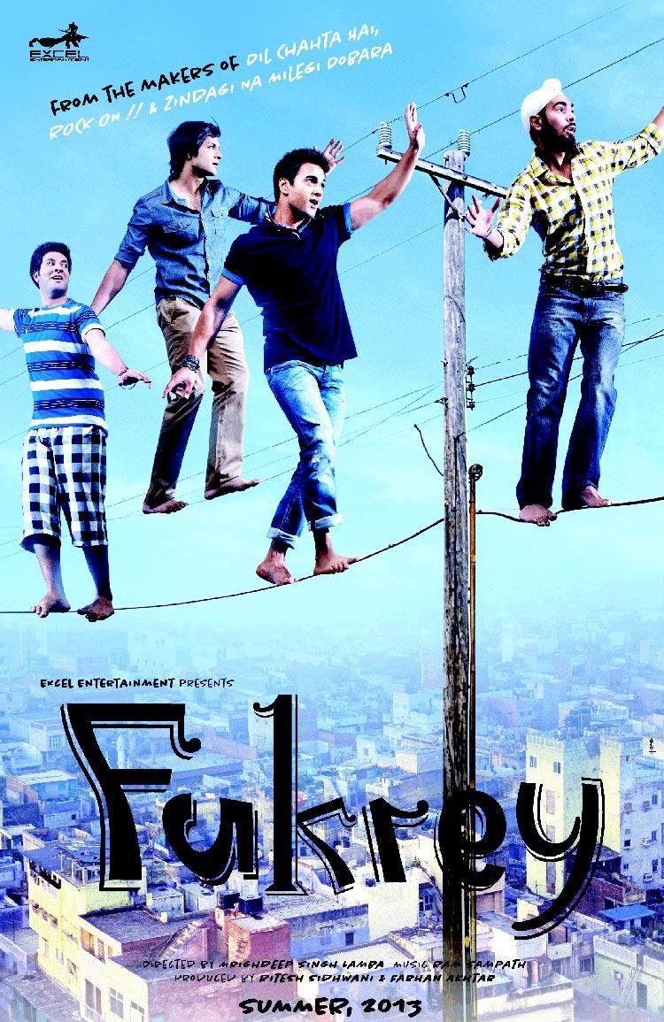Fukrey - Movie Poster #2 (Original)
