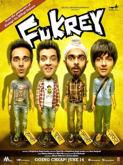 Fukrey - Movie Poster #4 (Original)