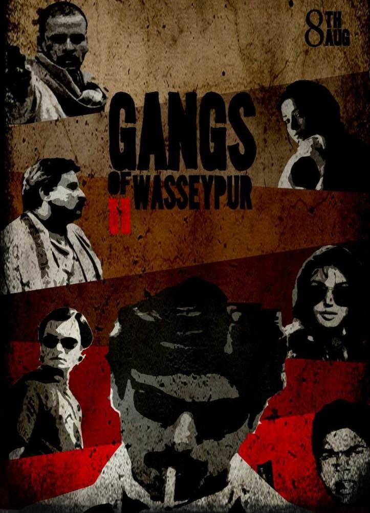 Gangs Of Wasseypur 2 - Movie Poster #5 (Original)