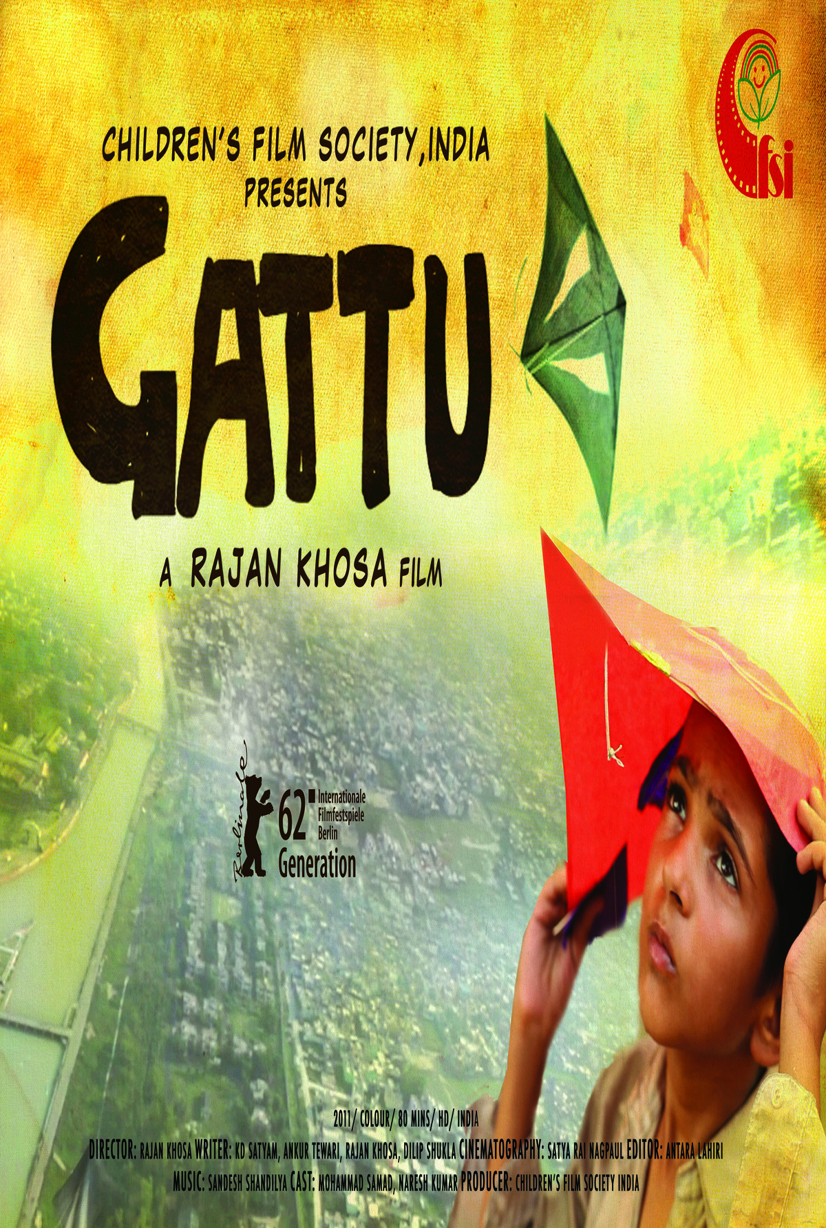 Gattu - Movie Poster #1 (Original)