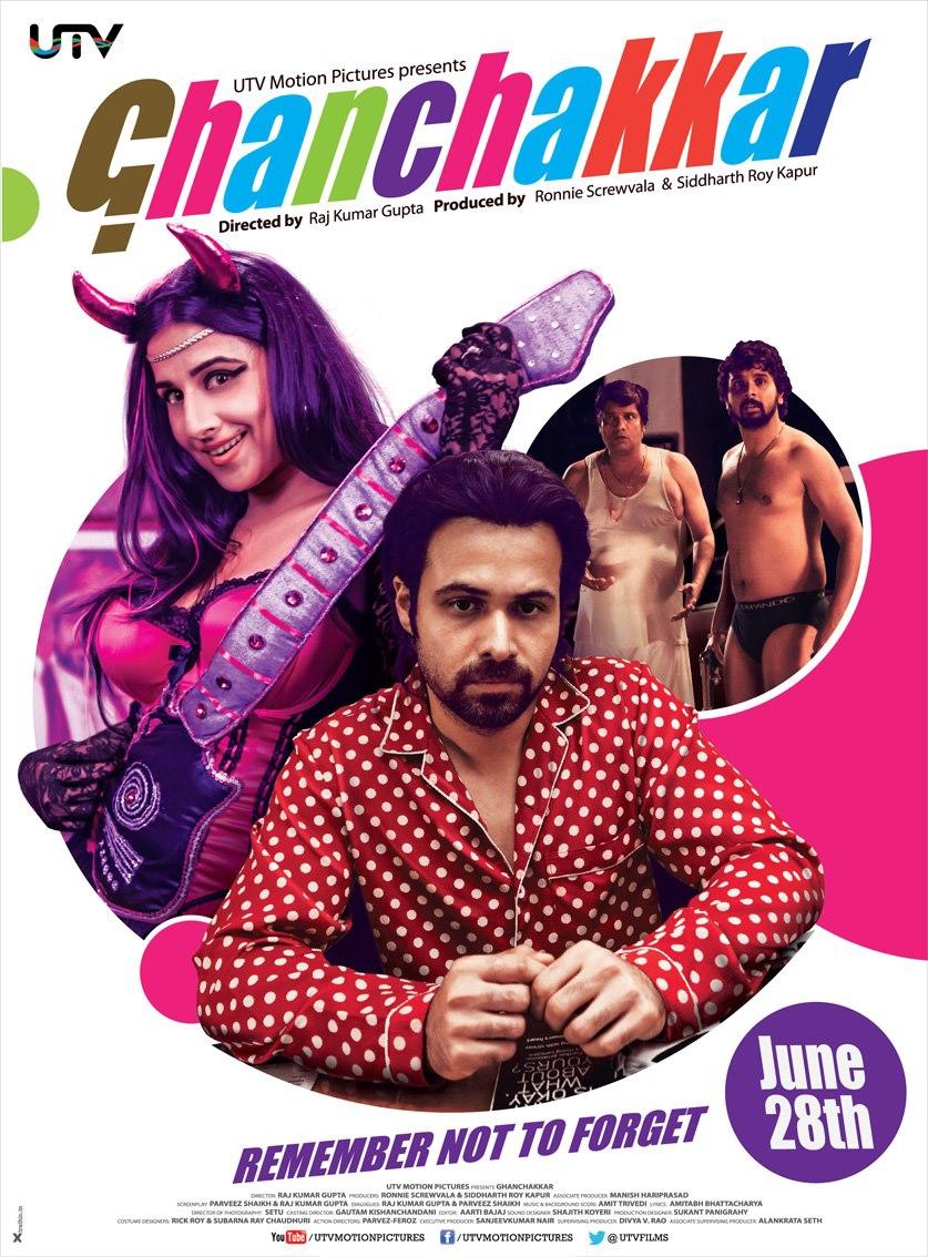Ghanchakkar - Movie Poster #1 (Original)