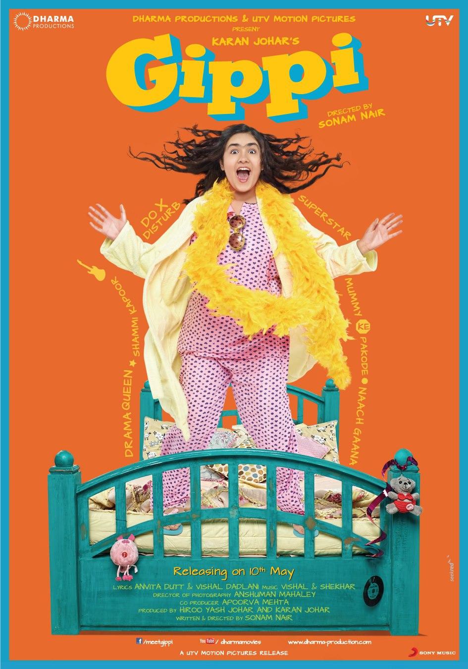 Gippi - Movie Poster #1 (Original)