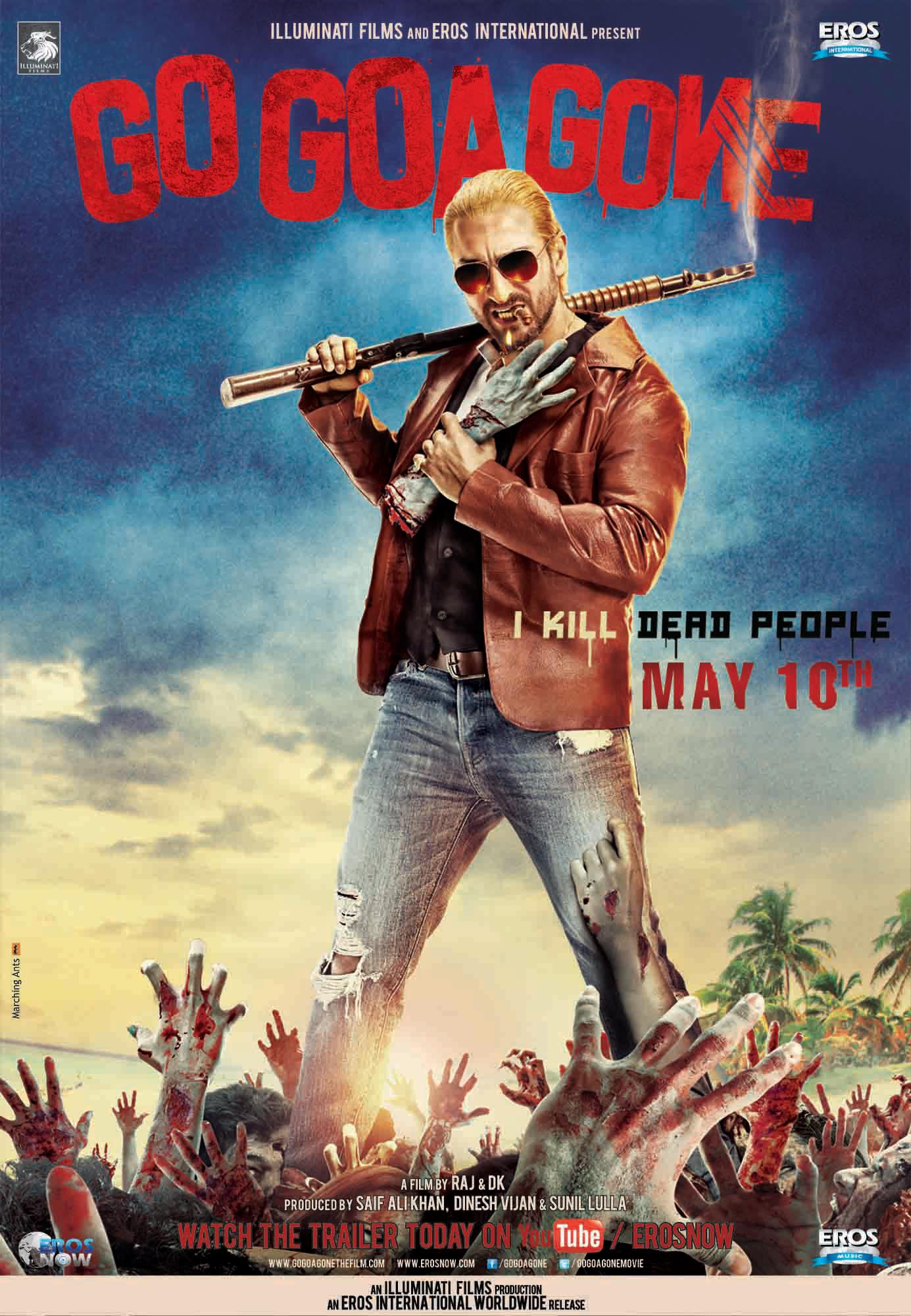 Go Goa Gone - Movie Poster #1 (Original)