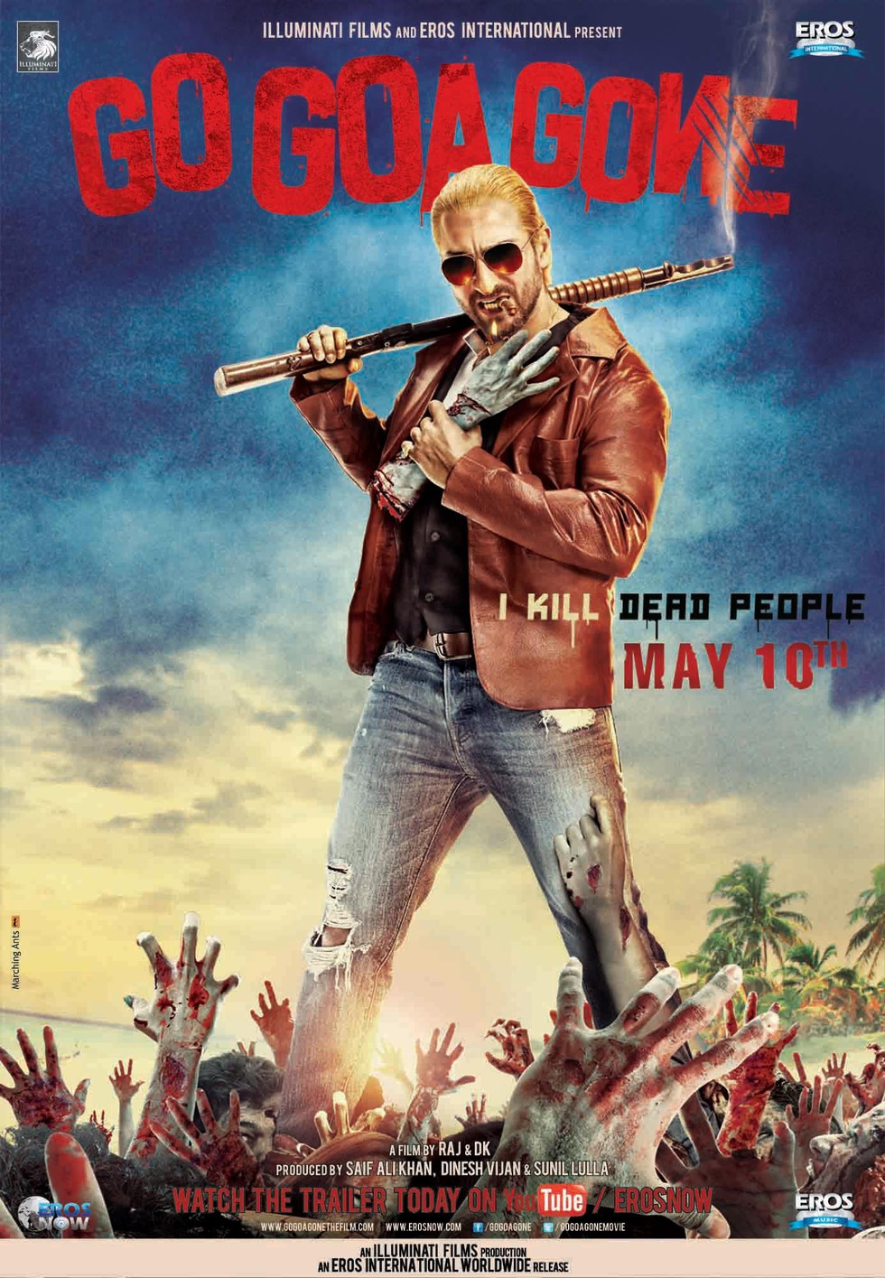 Go Goa Gone - Movie Poster #1 (Large)