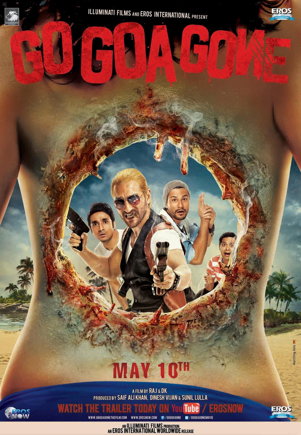 Go Goa Gone - Movie Poster #2 (Large)