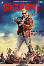 Go Goa Gone Small Poster